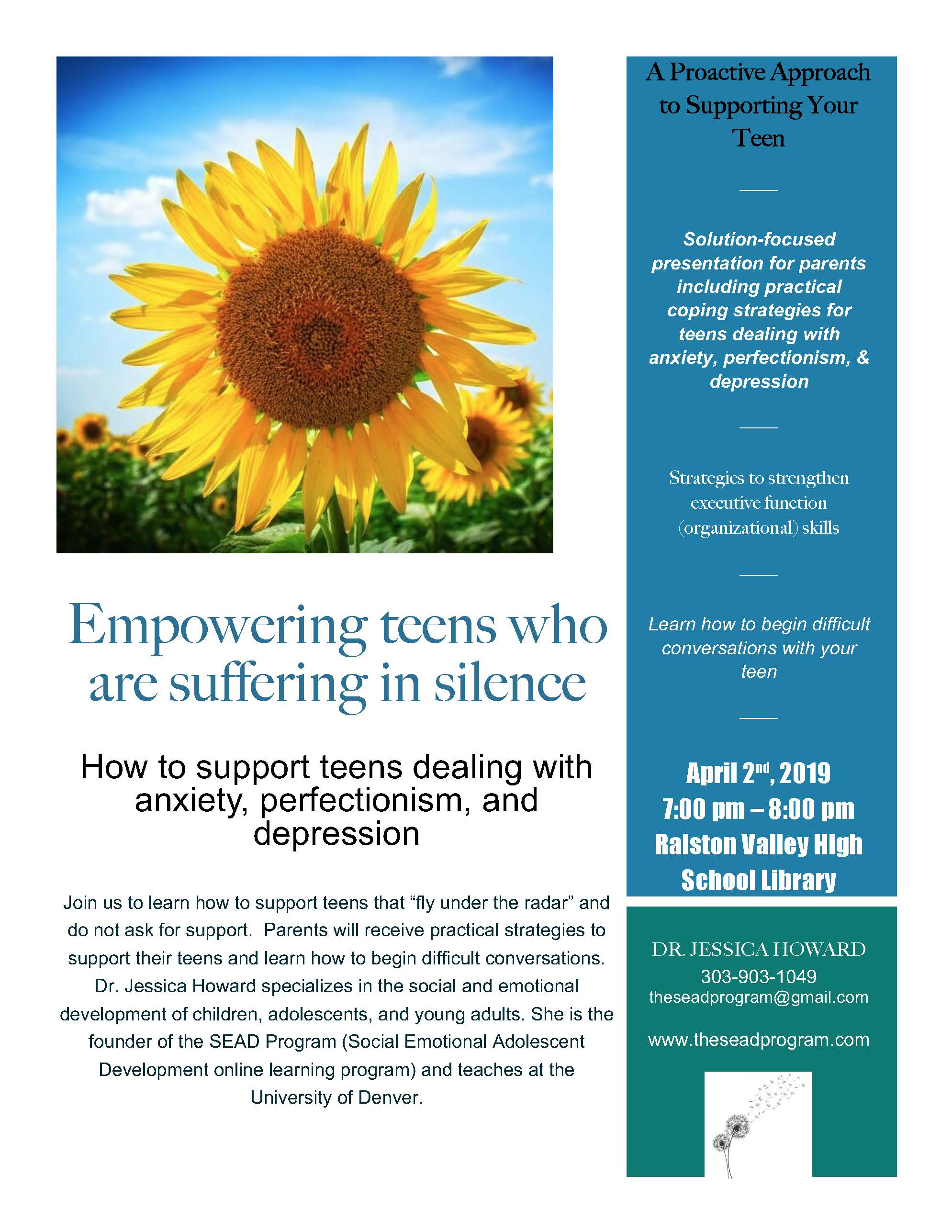 Supporting Teens Dealing with Anxiety, Perfectionism, and